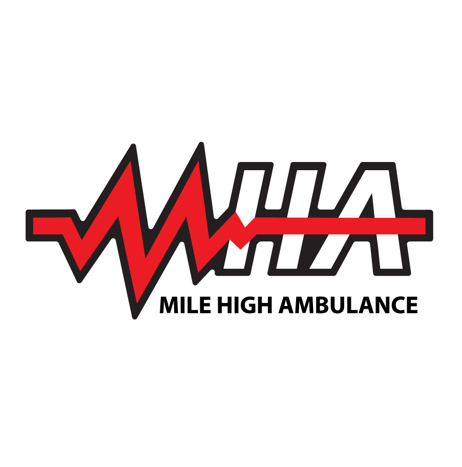 Mile High Ambulance MHA Logo