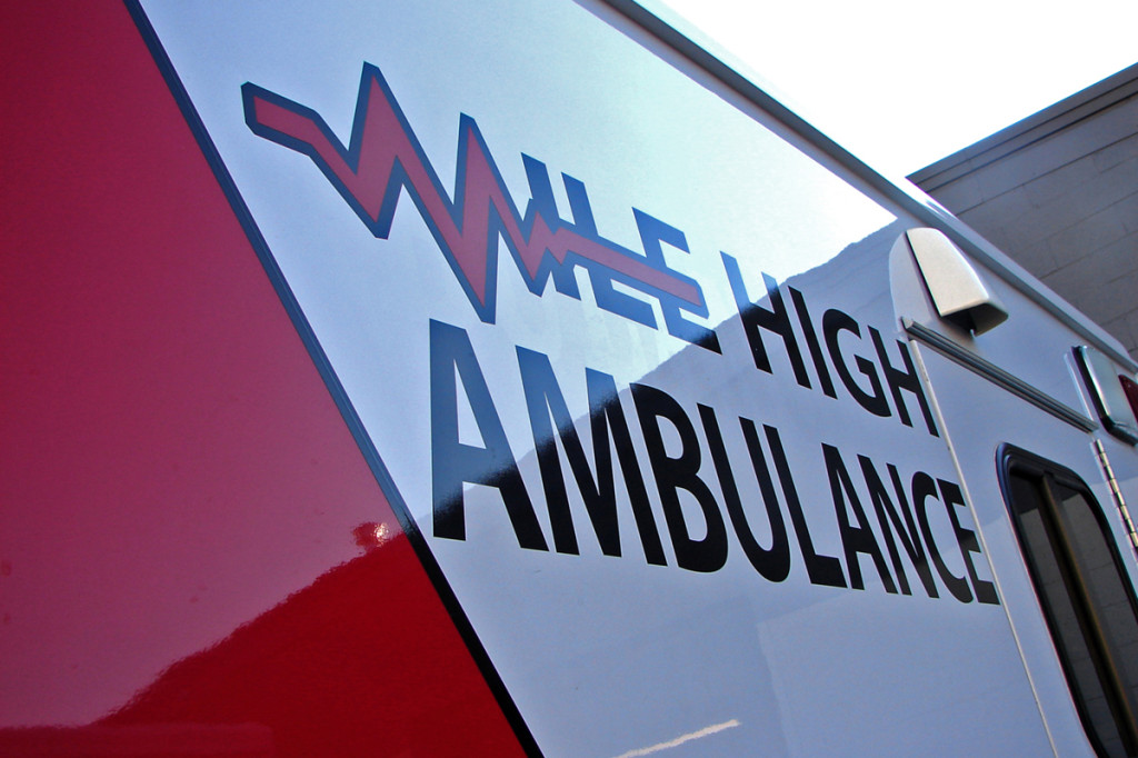 MHA Ambulance Vinyl Graphic Logo