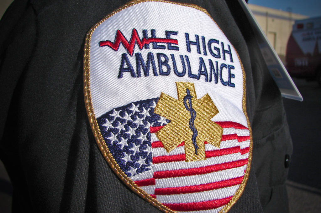 Mile High Ambulance Uniform Patch