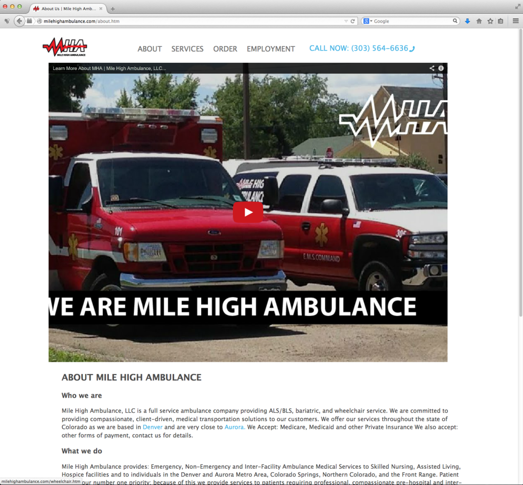 MHA Site – About Us page