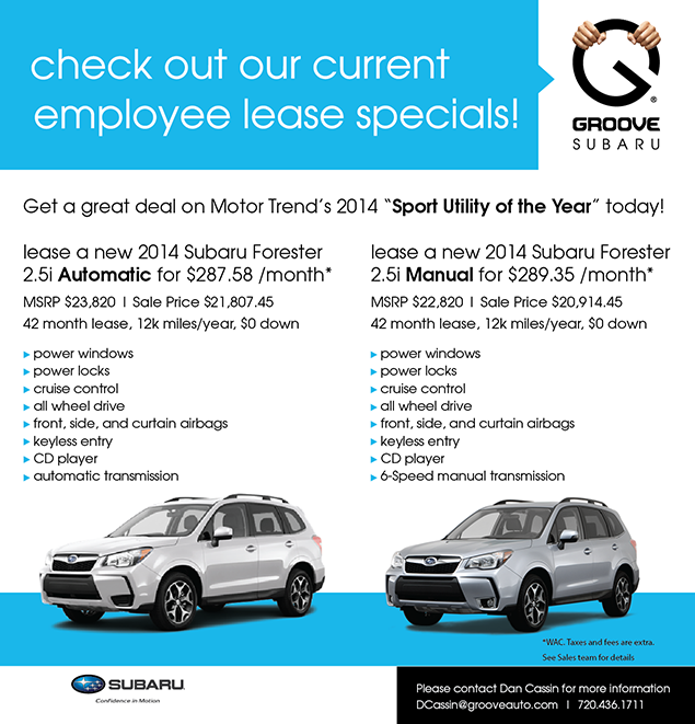 Employee Lease Deal Email Graphic