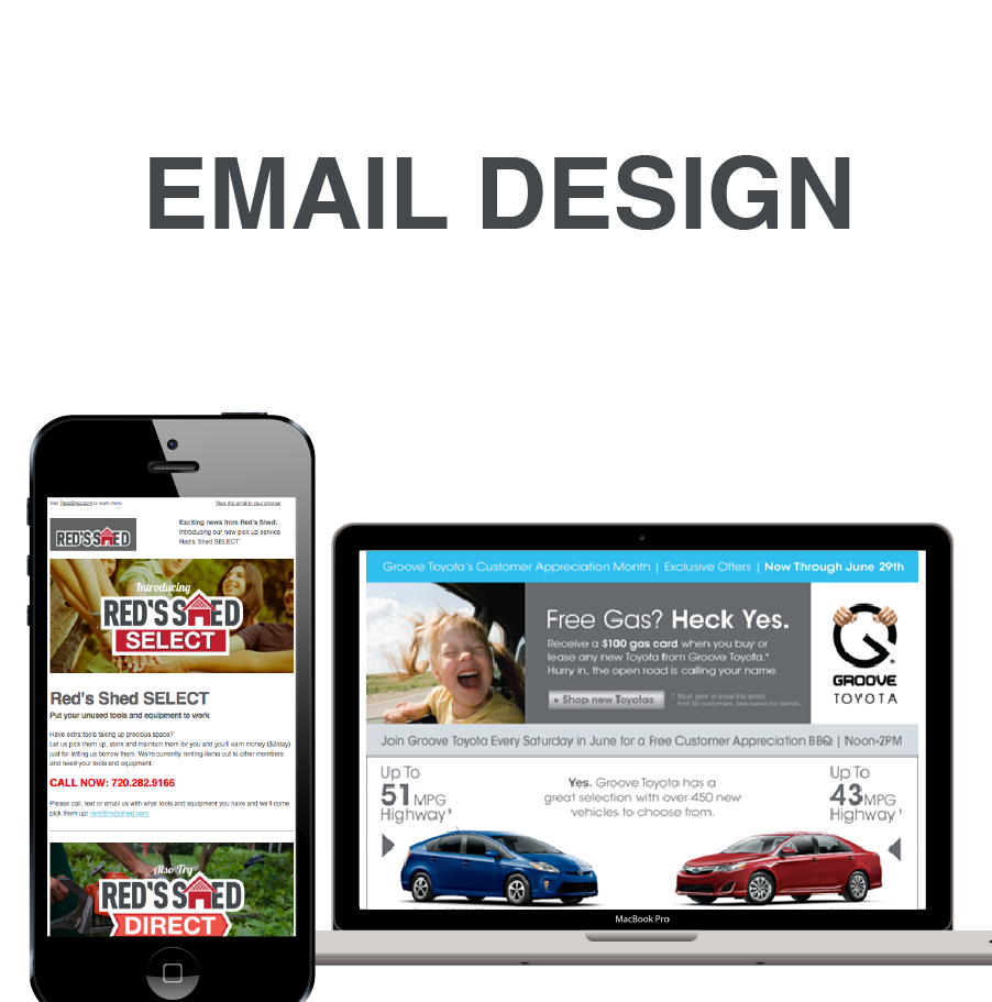 Email Design and Building