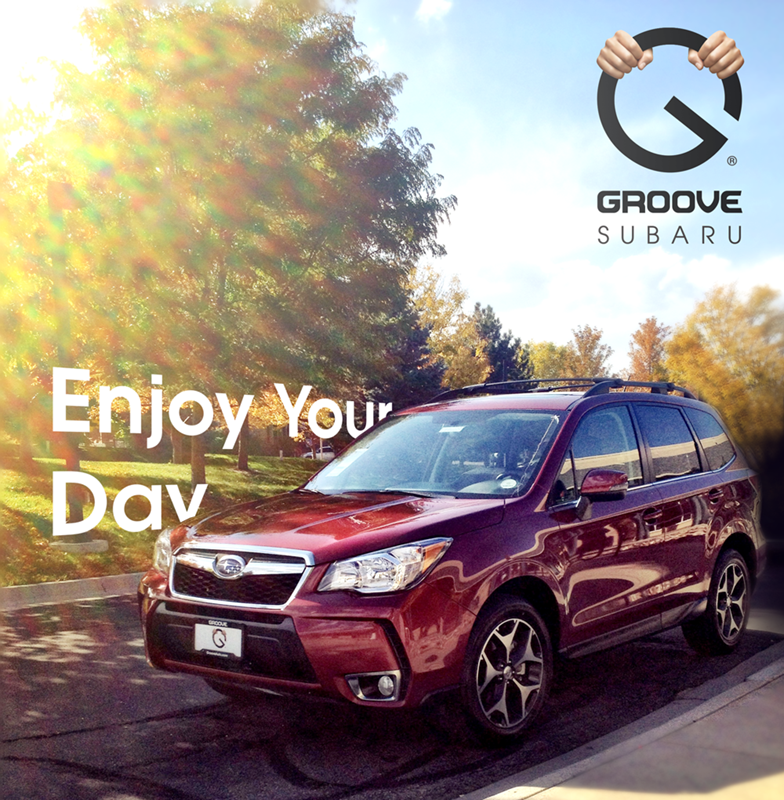 Groove Subaru Social Media graphic