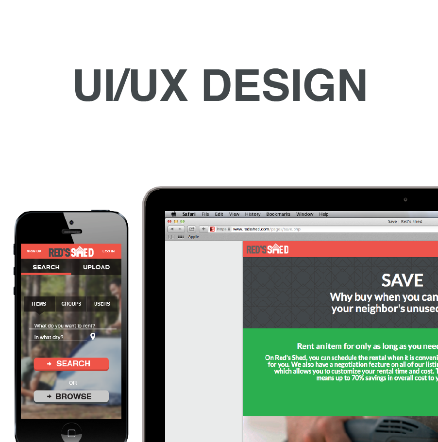 User Interface and User Experiance Design